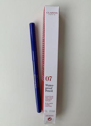 Clarins waterproof pencil 07 автоматический водостойкий карандаш для глаз