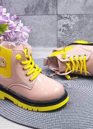 Крутые деми ботинки для девочек