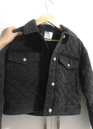 Bershka стеганая куртка жакет пиджак2 фото