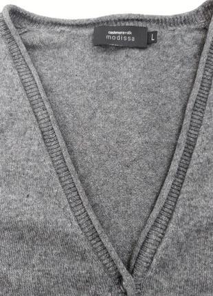 Кофточка из шелка и кашемира от швейцарской марки modissa.6 фото