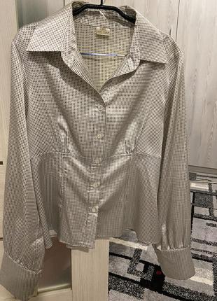 Блуза рубашка melange1 фото