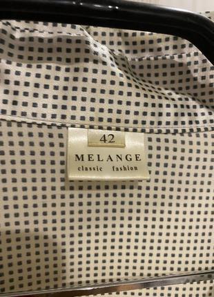 Блуза рубашка melange5 фото