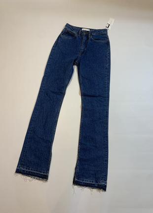 Женские новые оригинальные джинсы sandro paris viky boot-cut jeans xs4 фото