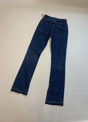 Женские новые оригинальные джинсы sandro paris viky boot-cut jeans xs2 фото