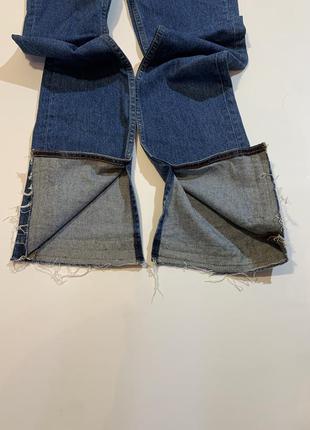 Женские новые оригинальные джинсы sandro paris viky boot-cut jeans xs7 фото