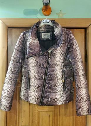 Короткая куртка на синтепоне. 44-48.1 фото