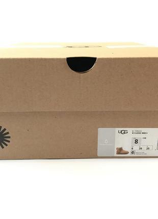 Крутые сапожки ugg classic mini 9us, 40eu, 25,5cm оригинал, оригінал, original4 фото