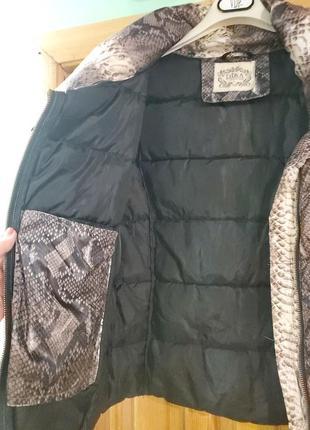 Короткая куртка на синтепоне. 44-48.4 фото