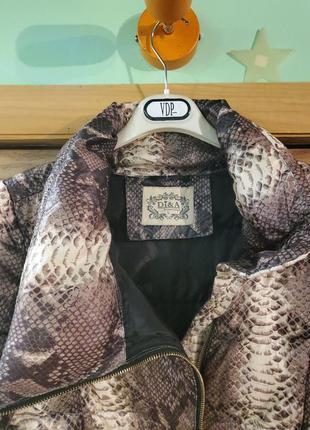 Короткая куртка на синтепоне. 44-48.5 фото