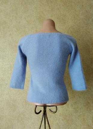 Кофточка ангора mng, джемпер шерсть ангора, теплая кофточка рукав 3/43 фото