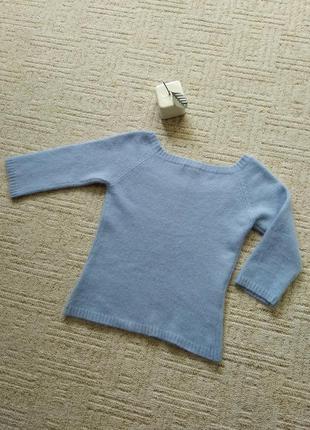 Кофточка ангора mng, джемпер шерсть ангора, теплая кофточка рукав 3/45 фото