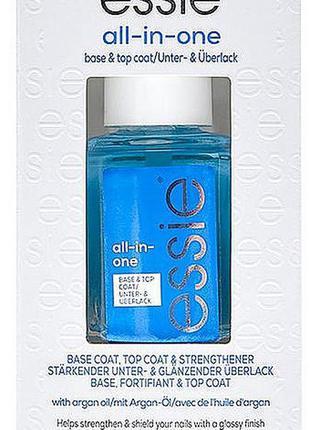 Essie all-in-one top & base coat лак для ногтей топ база