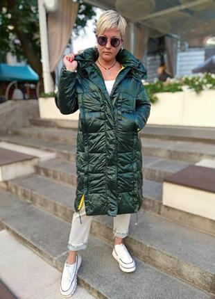Модне жіноче пальто єврозима євр2 фото