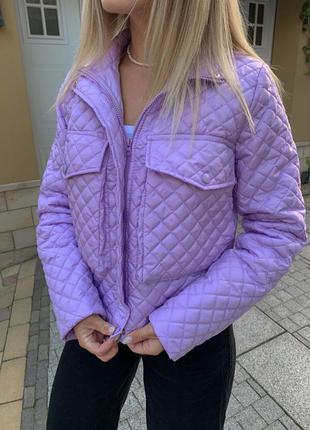 Стеганая курточка1 фото