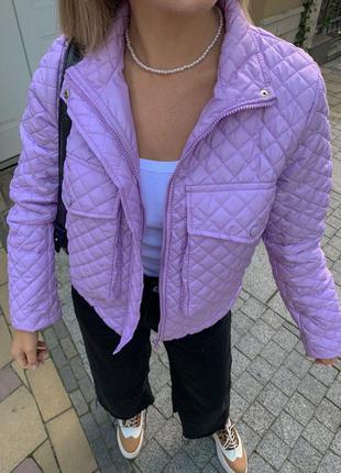 Стеганая курточка4 фото