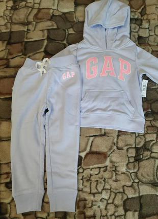 Дитячий детский костю геп штани худи gap