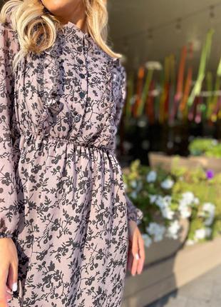 Платье шифон8 фото