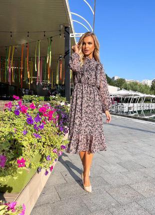 Платье шифон1 фото