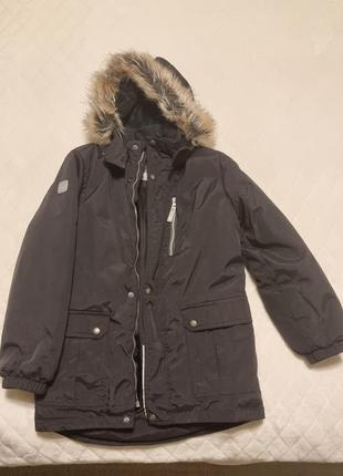 Зимняя куртка мальчику lenne , 134р
