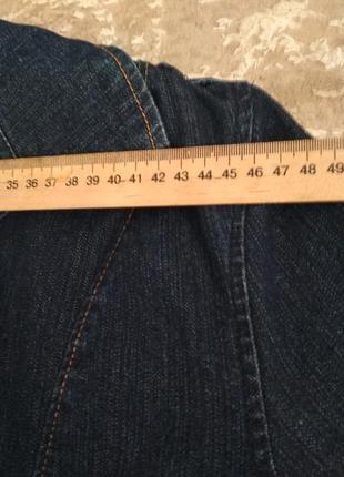 Джинсовая куртка плащ тренч5 фото