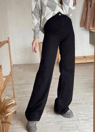 Стильные джинсы палаццо1 фото