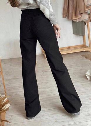 Стильные джинсы палаццо2 фото