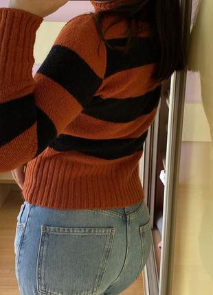 Тренд укороченный свитер гольф кашемир кофта3 фото