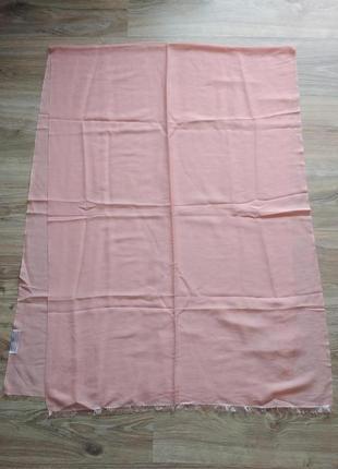 Нежный шарф шаль палантин из кашемира и шелка, непал1 фото