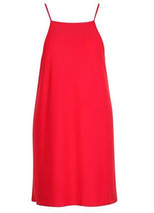 Черный сарафан, платье на бретелях от boohoo большой размер5 фото