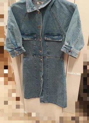 Джинсовое платье джинсова сукня5 фото