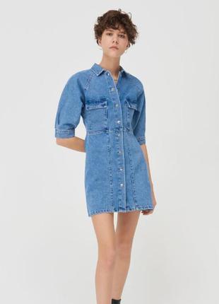 Джинсовое платье джинсова сукня1 фото