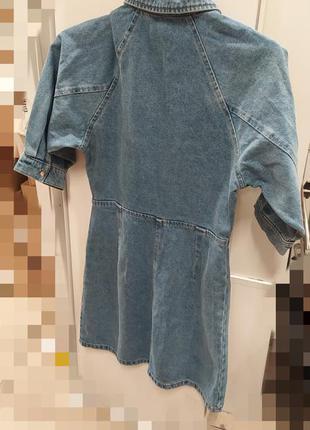 Джинсовое платье джинсова сукня6 фото