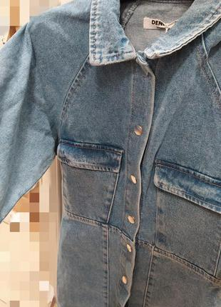 Джинсовое платье джинсова сукня7 фото