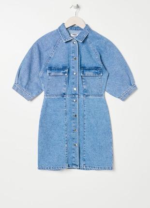 Джинсовое платье джинсова сукня4 фото