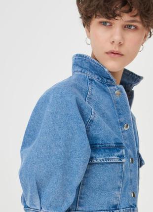 Джинсовое платье джинсова сукня3 фото