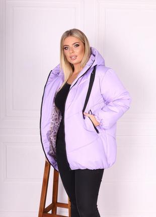 Куртка зимняя 😍❄️три цвета 💕размер батал и норма ✅2 фото