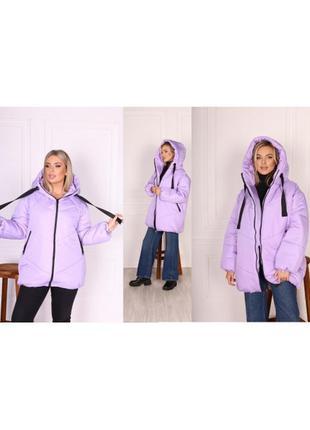Куртка зимняя 😍❄️три цвета 💕размер батал и норма ✅6 фото