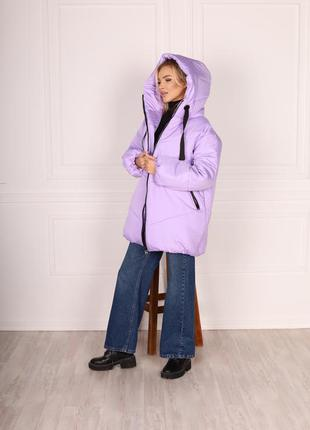 Куртка зимняя 😍❄️три цвета 💕размер батал и норма ✅3 фото