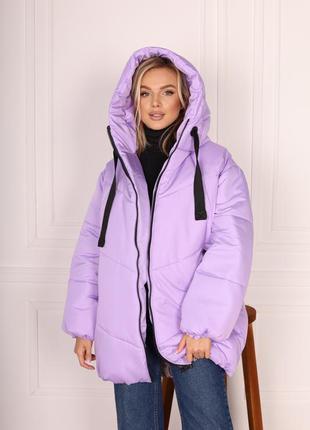 Куртка зимняя 😍❄️три цвета 💕размер батал и норма ✅1 фото