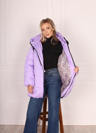 Куртка зимняя 😍❄️три цвета 💕размер батал и норма ✅4 фото