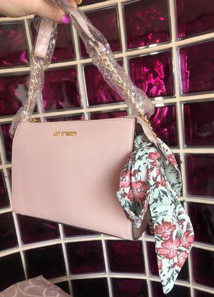 Новая сумка брендовая cross body оригинал steve madden через плечо с бирками1 фото
