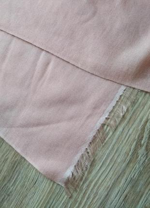Нежный шарф шаль палантин из кашемира и шелка, непал3 фото