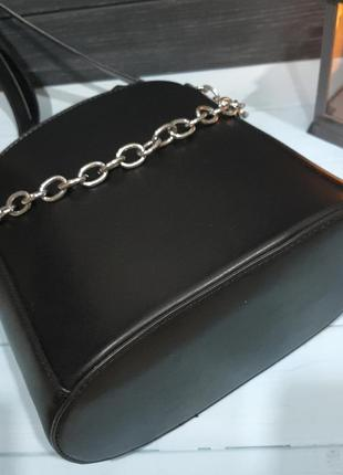 Стильная сумка-ведро с мешочком внутри, италия3 фото