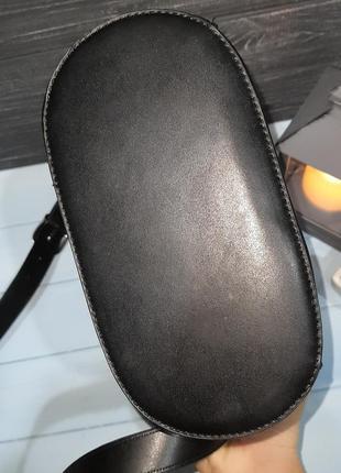 Стильная сумка-ведро с мешочком внутри, италия7 фото