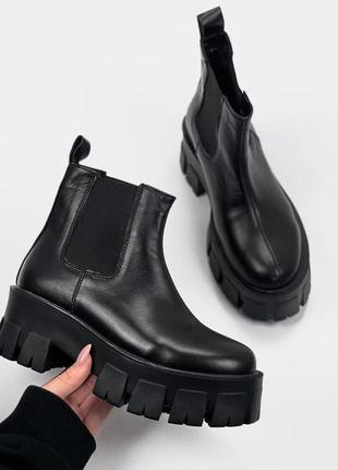 Женские ботинки, ботинки демисезонные, ботинки деми, ботиночки женские, ботинки кожаные3 фото