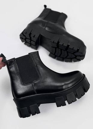 Женские ботинки, ботинки демисезонные, ботинки деми, ботиночки женские, ботинки кожаные1 фото