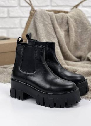 Женские ботинки, ботинки демисезонные, ботинки деми, ботиночки женские, ботинки кожаные6 фото