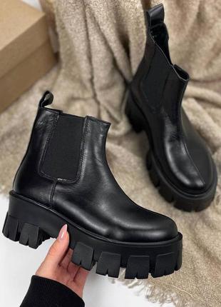 Женские ботинки, ботинки демисезонные, ботинки деми, ботиночки женские, ботинки кожаные4 фото