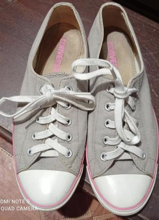 Крутые кеды, кросовки converse оригинал р.381 фото
