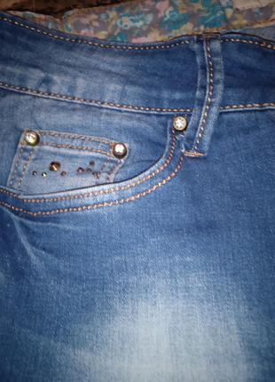 Джинсы высокая посадка рваные  рвані бойфренды турция джинси бойфренд турція5 фото